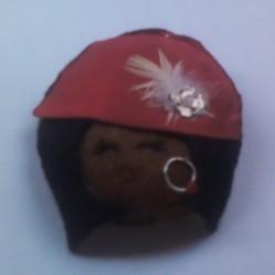negrita sombrero elegante