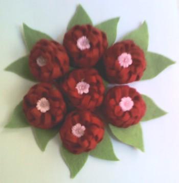 Flores rojos